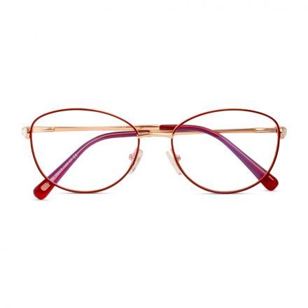 women's trendy oval eyeglass
