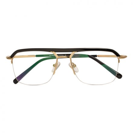 men's fashion eyeglasses with top bar