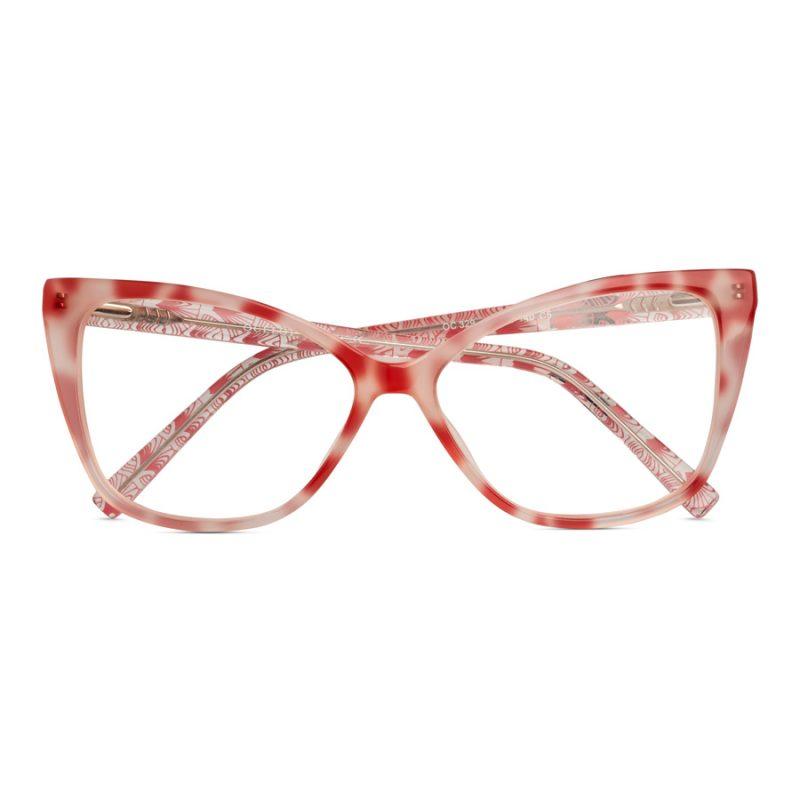 Women's extreme cat-eye glasses