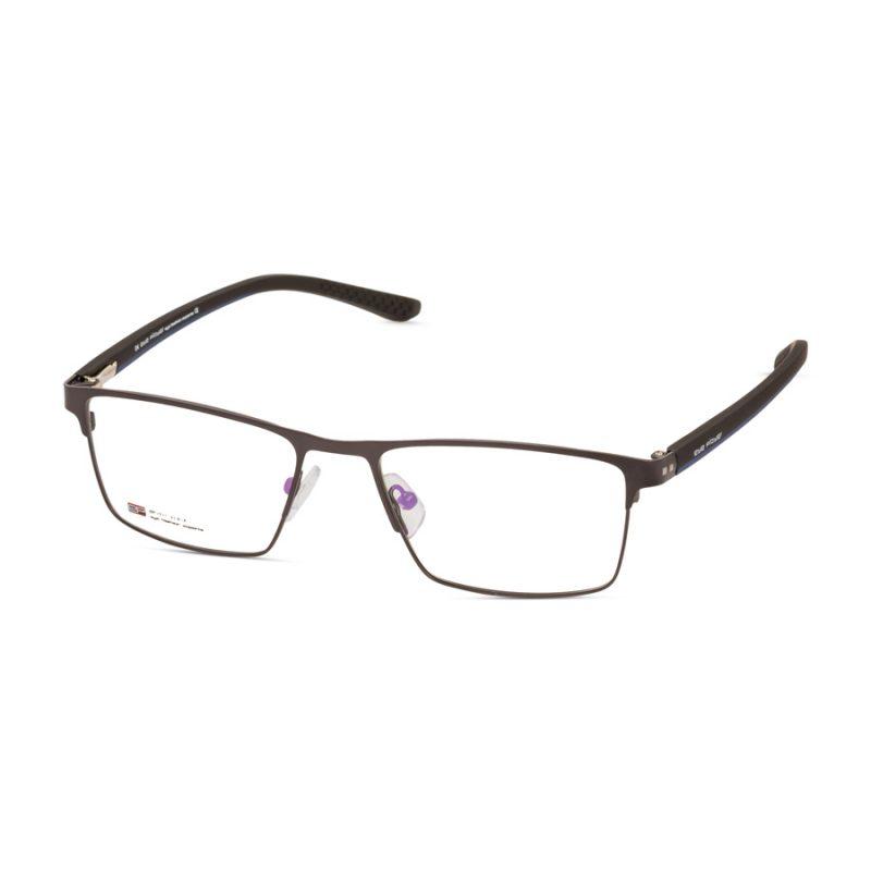 Men's metal glasses- straight top design