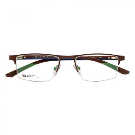 Men's Half-Rim Eyeglass Frames