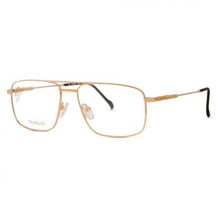 stepper thin titanium men's glasses
